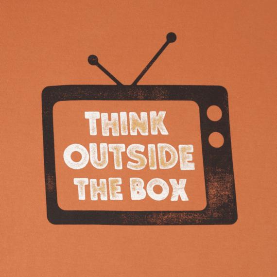 Men's Think Outside TV Crusher Tee