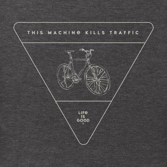 Men's This Machine Kills Traffic Crusher Tee