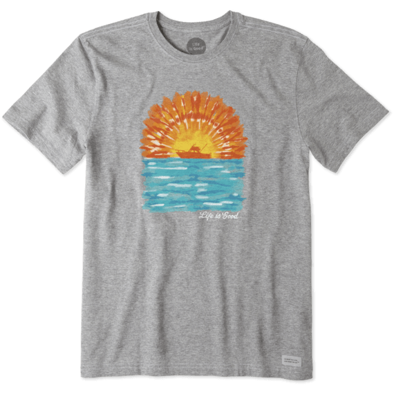 Men's Tie Dye Boating Crusher Tee
