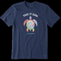 Men's Tie Dye Turtle Crusher Tee