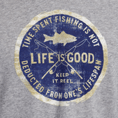 Men's Time Spent Fishing Vintage Sport Long Sleeve