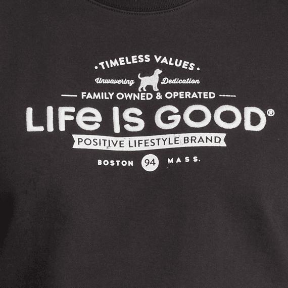 Men's Timeless Values Simply True Fleece Crew