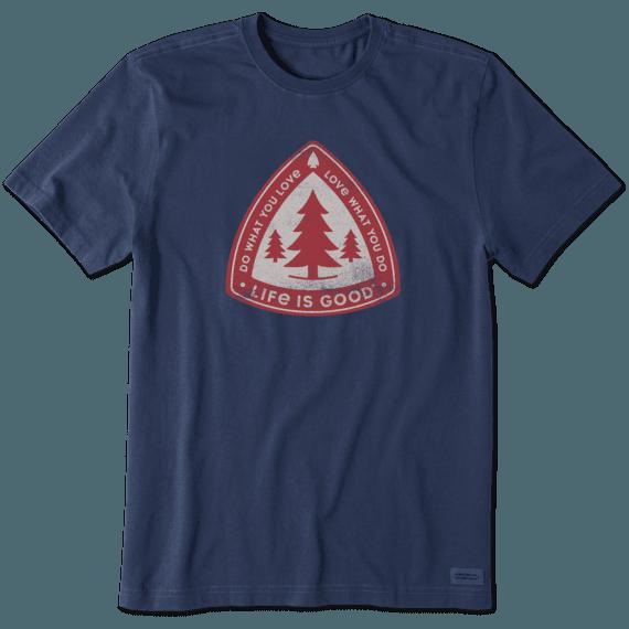 Men's Tree Badge Crusher Tee