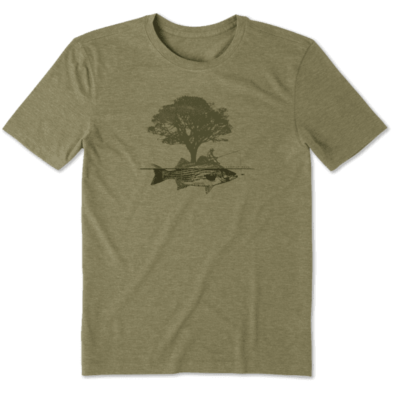 Men's Tree Fish Cool Tee