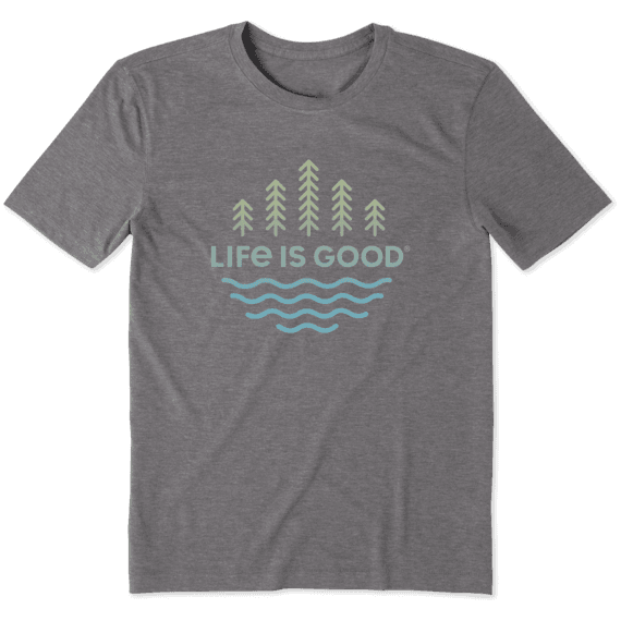 Men's Trees and Water Cool Tee