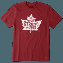 Men's True North Strong Canada Crusher Tee
