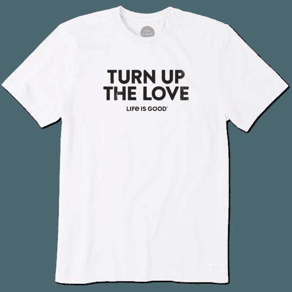 Men's Turn Up The Love Crusher Tee