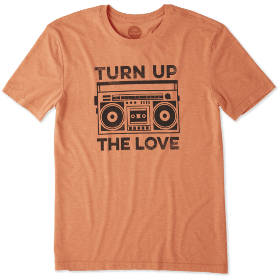 Men's Turn up the Love Cool Tee