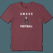 Men's UMass Athlete Jake Cool Tee