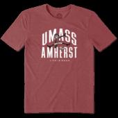 Men's UMass Disc Jake Cool Tee