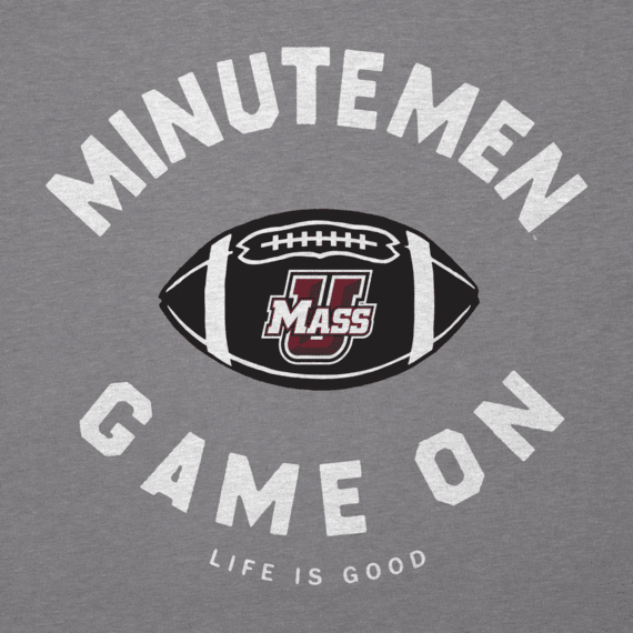 Men's UMass Game On Football Cool Tee