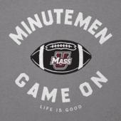 Men's UMass Game On Football Cool Tee