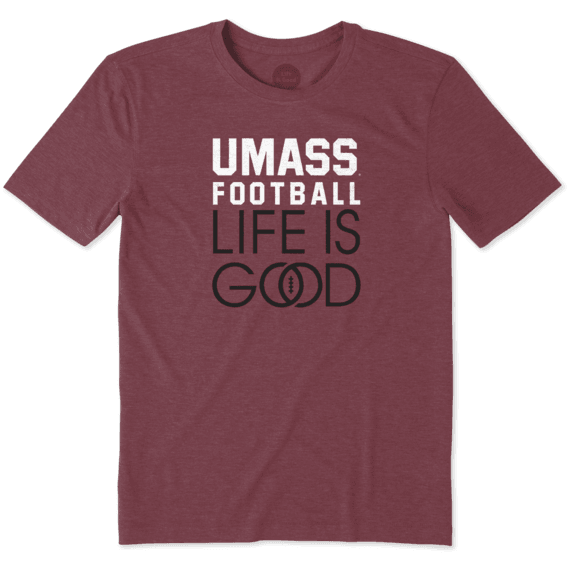 Men's UMass Infinity Football Cool Tee