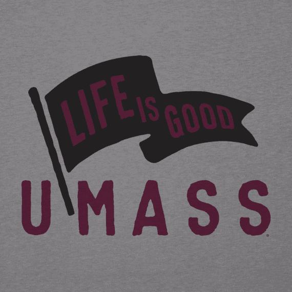 Men's UMass Pennant Cool Tee