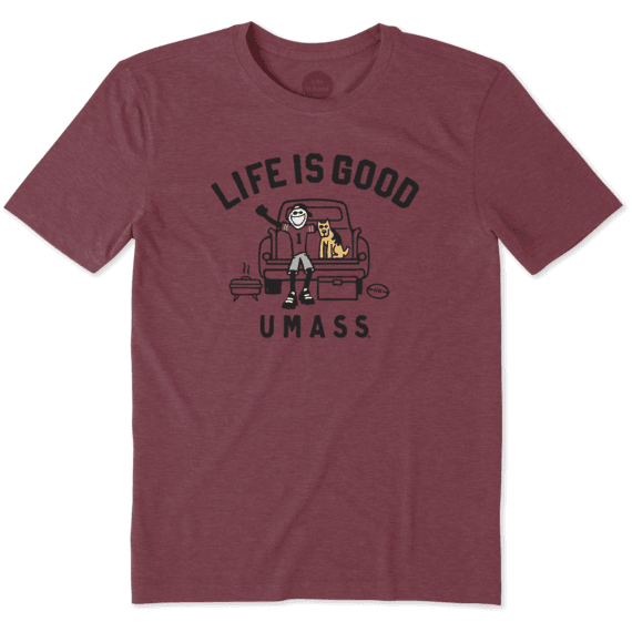 Men's UMass Tailgate Jake Cool Tee