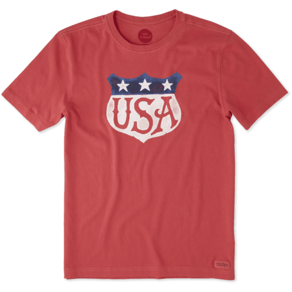 Men's USA Shield Crusher Tee