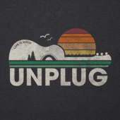 Men's Unplug Camp Guitar Cool Tee