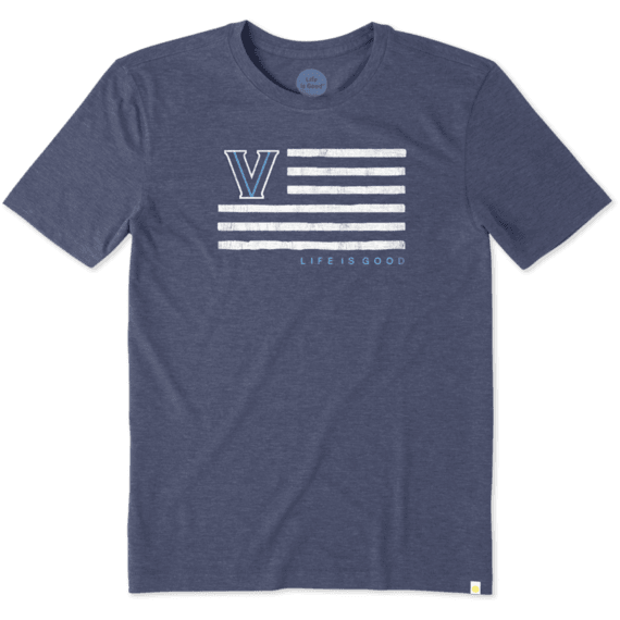 Men's Villanova Flag Cool Tee