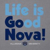 Men's Villanova Go Team Long Sleeve Cool Tee