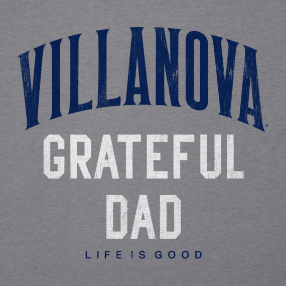 Men's Villanova Grateful Dad Cool Tee