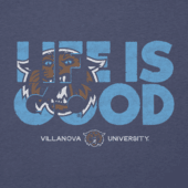 Men's Villanova Life is Good Cool Tee