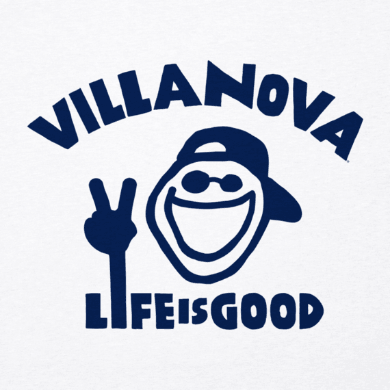 Men's Villanova University Peace Jake Cool Tee