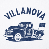 Men's Villanova Vintage Truck Cool Tee