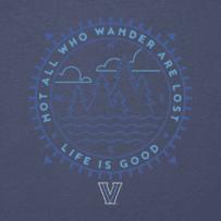 Men's Villanova Wander Long Sleeve Cool Tee