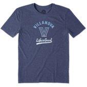 Men's Villanova Wildcats Gradient Tailwhip Cool Tee