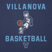 Men's Villanova Wildcats Jake Athlete Long Sleeve Cool Tee