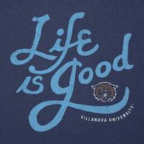Men's Villanova Wildcats Lig Flourish Cool Tee