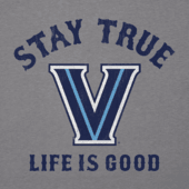 Men's Villanova Wildcats Stay True Long Sleeve Cool Tee