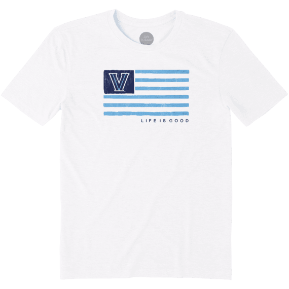 Men's Villanova Wildcats Team Flag Cool Tee