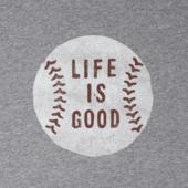 Men's Vintage Baseball Smooth Tee