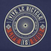Men's Vive Le Bicycle Crusher Tee