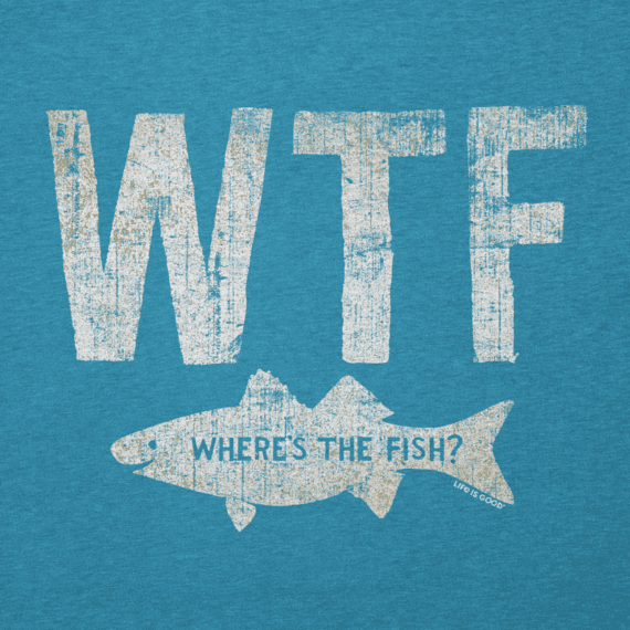 Men's WTF Fish Cool Tee