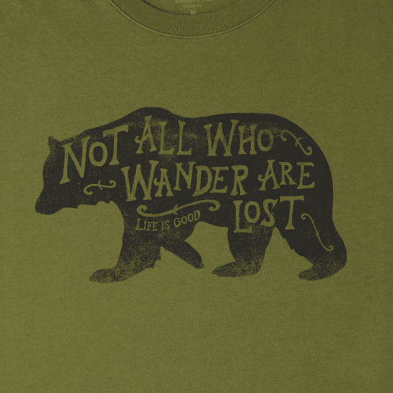 Men's Wander Bear Smooth Tee