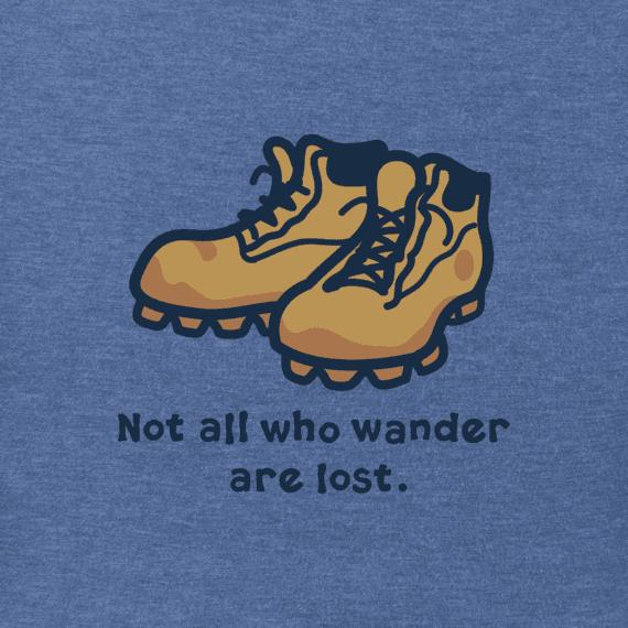 Men's Wander Boots Vintage Crusher Tee