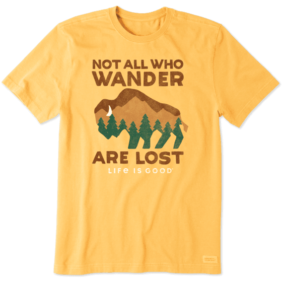 Men's Wander Buffalo Crusher Tee