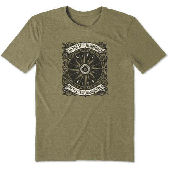 Men's Wander Compass Cool Tee