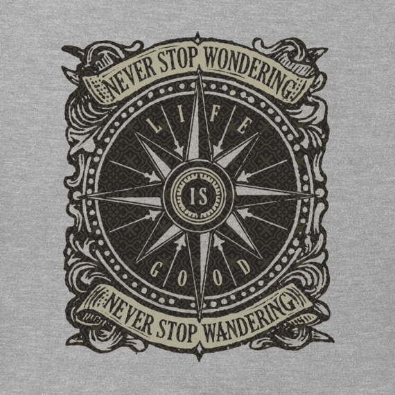 Men's Wander Compass Crusher Tee