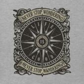 Men's Wander Compass Crusher Tee