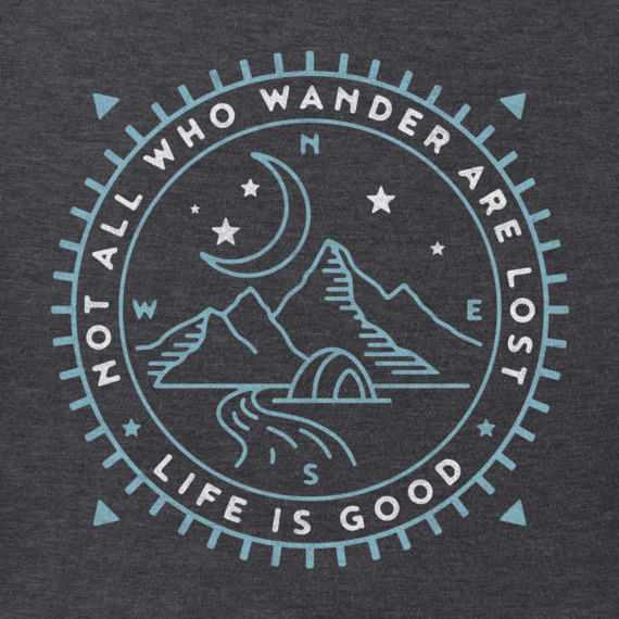 Men's Wander Compass Scene Crusher Tee