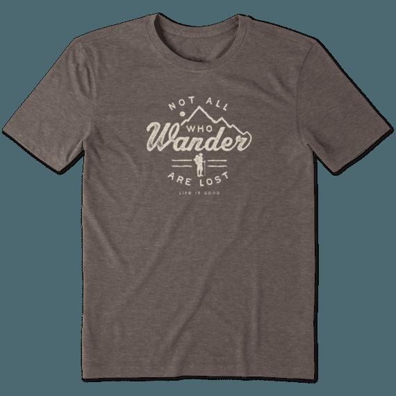 Men's Wander Hike Cool Tee