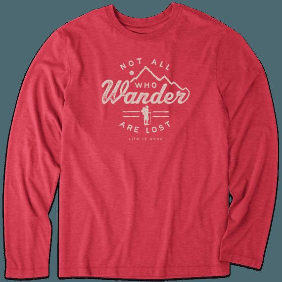 Men's Wander Hike Long Sleeve Cool Tee