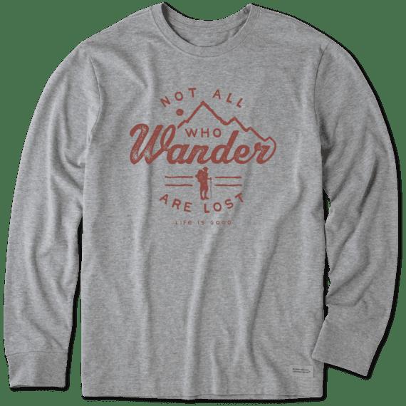Men's Wander Hike Long Sleeve Crusher Tee
