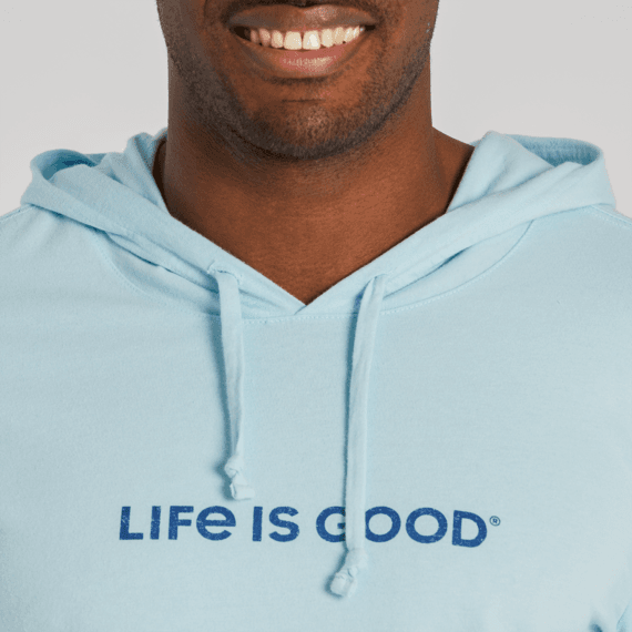 Men's Waves of Life Long Sleeve Hooded Crusher