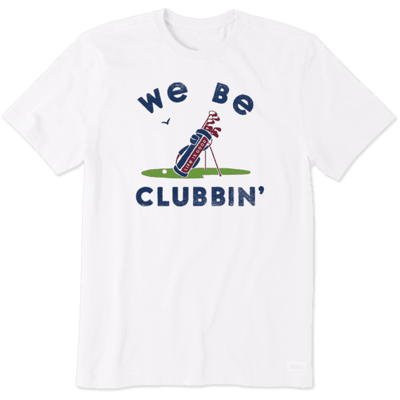 Men's We Be Clubbin' Crusher Tee