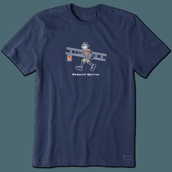 Men's Weekend Warrior Jake Vintage Crusher Tee