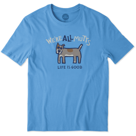 Men's We're All Mutts Smooth Tee
